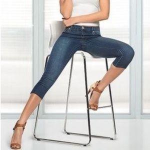 J.Crew matchstick denim skinny crop jeans size 1